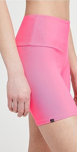 Onzie - Ribbed Bike Shorts