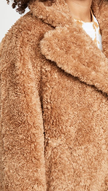 OOF Faux Fur Jacket