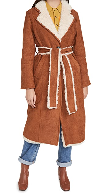 OOF Reversible Long Jacket