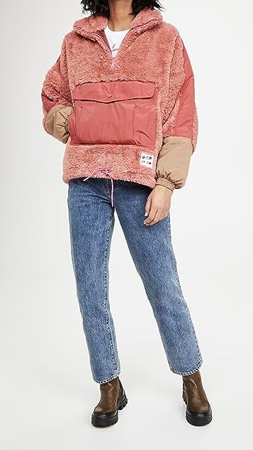 OOF Front Pocket Pullover Jacket