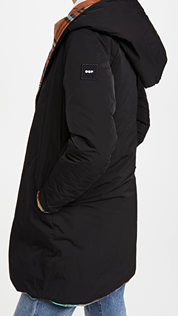 OOF Reversible Hooded Jacket