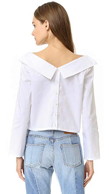 Opening Ceremony Off Shoulder Top