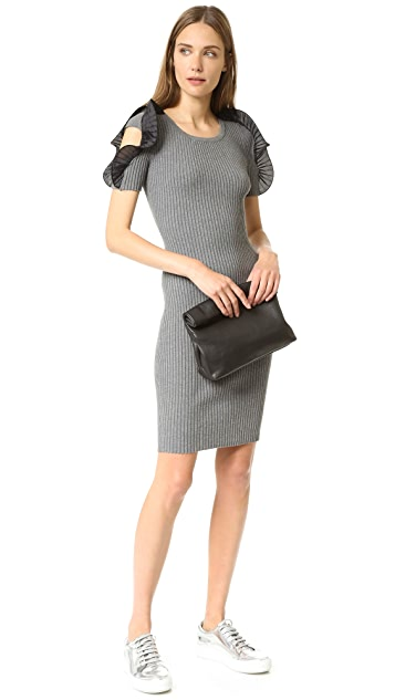 Opening Ceremony Ruffle Sleeve Dress