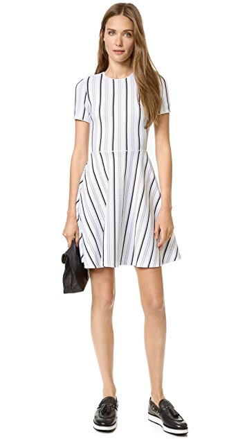 Opening Ceremony Striped Clos Dress