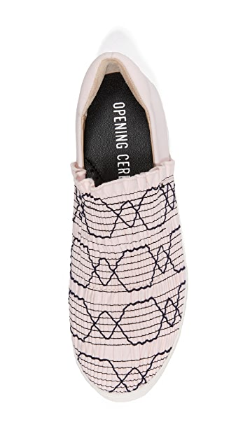 Opening Ceremony Cici Woven Platform Sneakers