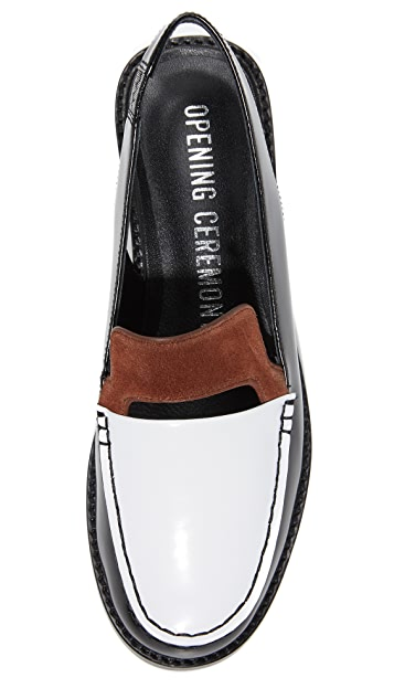 Opening Ceremony Bettsy Slingback Loafers