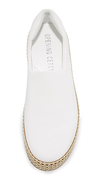 Opening Ceremony Cici Espadrille Wrap Slip Ons