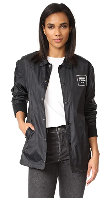 Opening Ceremony Signature Coach Jacket