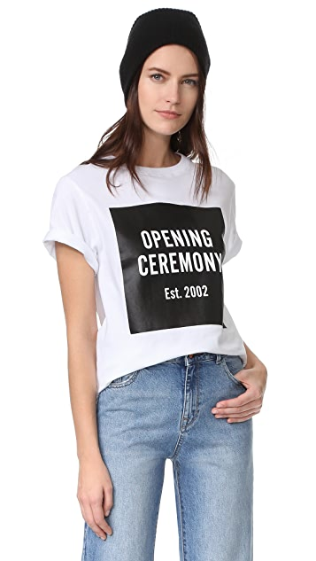 Opening Ceremony OC Logo Short Sleeve Tee