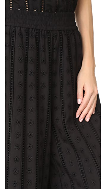Opening Ceremony Anglaise Wide Leg Pants