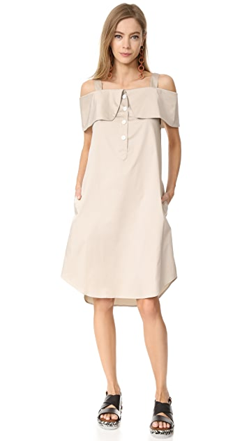 Opening Ceremony French Cuff Dress