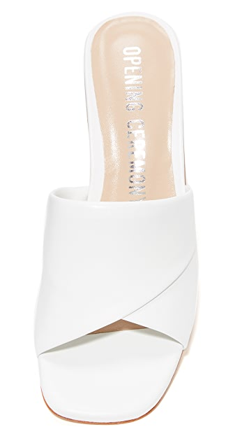 Opening Ceremony Nadyia Satin Heels