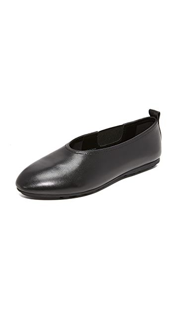 Black Opening Ceremony Maia Slip On Flats