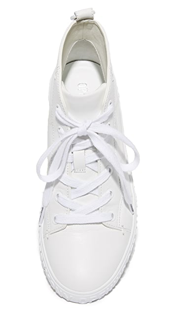 Opening Ceremony Ericca Leather High Top Sneakers