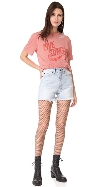 Opening Ceremony Love Stings Slashed Tee