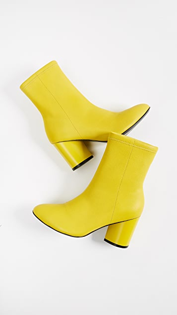 Opening Ceremony Dylan Stretch Leather Booties