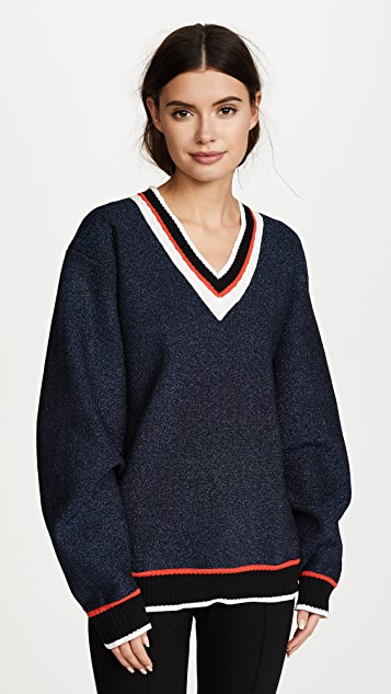 Opening Ceremony Disco Sport Cable Sweater