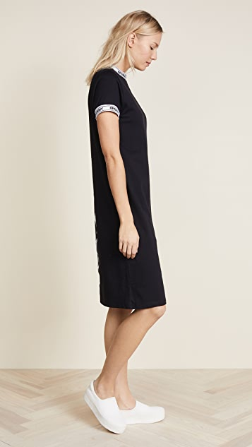 Opening Ceremony OC Banded T Shirt Dress