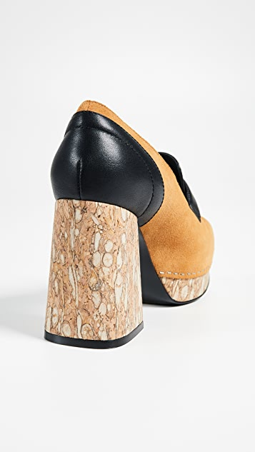 Opening Ceremony Angela Cork Heel Pumps