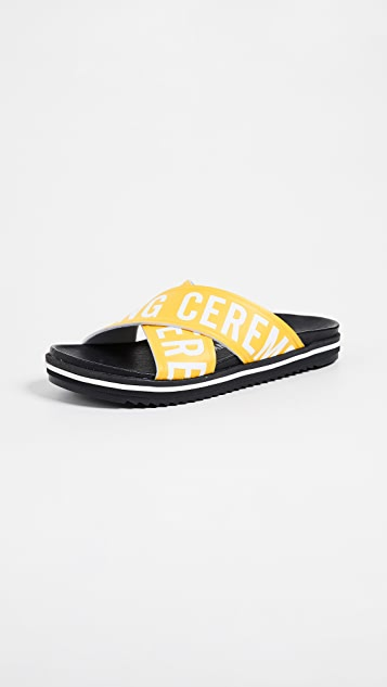Opening Ceremony Berkeley Slides - Racer Yellow