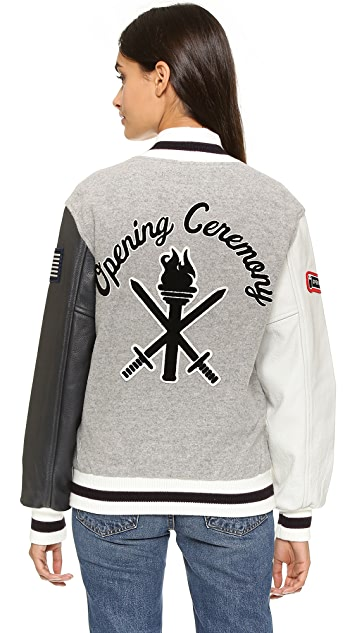 Opening Ceremony OC Classic Varsity Jacket