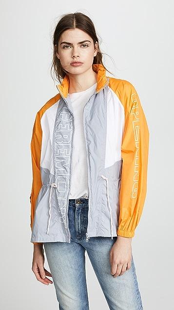 Opening Ceremony Nylon Zip Up Anorak Jacket