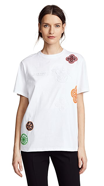 Opening Ceremony Crochet Flower Tee