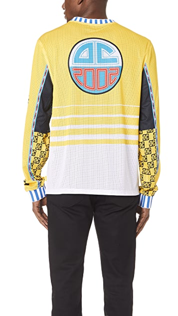 Opening Ceremony Moto Mesh Pullover