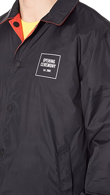 Opening Ceremony Reversible Coach Jacket