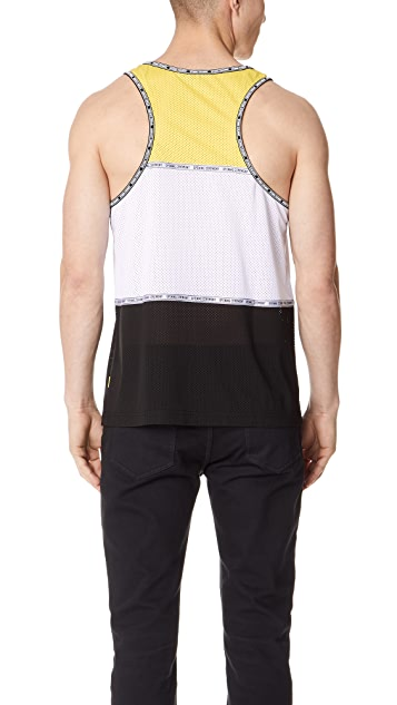Opening Ceremony Colorblock Mesh Tank