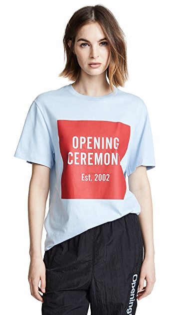 Opening Ceremony Box Logo Tee