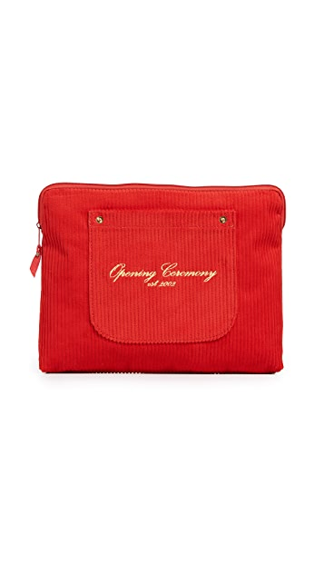 Opening Ceremony Corduroy Big Pocket Clutch