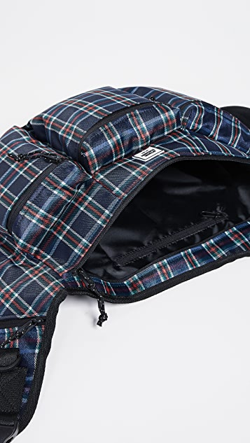 Opening Ceremony Plaid Sling Backpack
