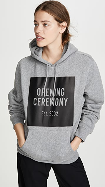 Opening Ceremony OC Box Logo Hoodie