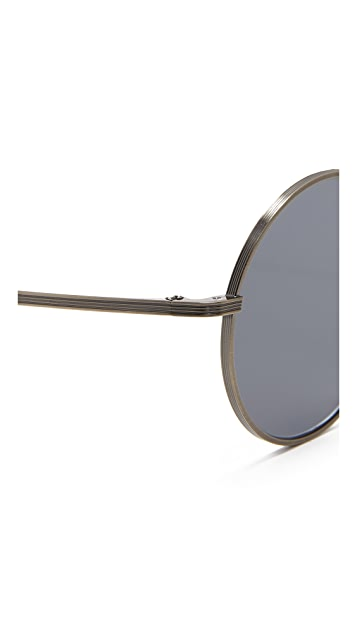 Oliver Peoples The Row After Midnight Flat Lens Sunglasses