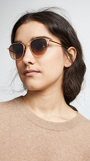 ba73b91dc70 ... Oliver Peoples The Row Board Meeting 2 Sunglasses ...