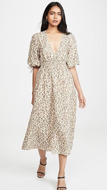 OPT Kotys Linen Dress