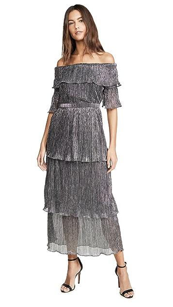 OPT Metallic Vimmy Dress
