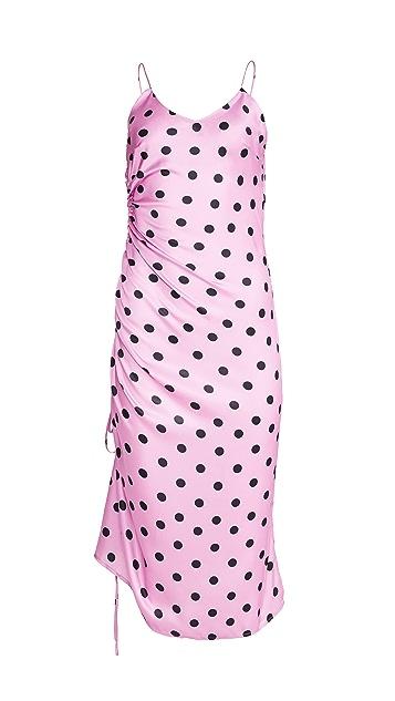 OPT Polka Dot Slip Dress