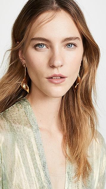 Oscar de la Renta Calla Lily P Earrings