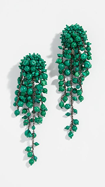 Beaded Earrings by Oscar De La Renta