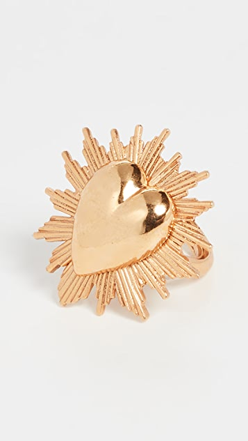 Sacred Heart Ring by Oscar De La Renta