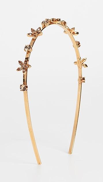 Oscar de la Renta Crystal Star Headband