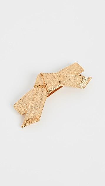 Oscar de la Renta 编织链条发夹