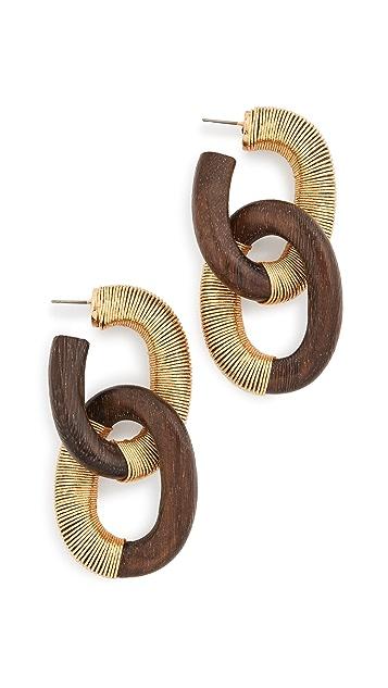 Oscar de la Renta 线型耳环