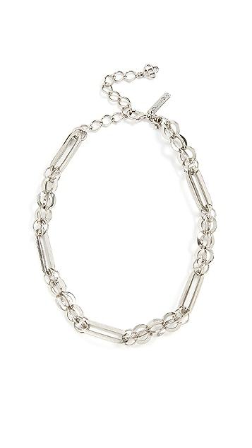 Oscar de la Renta Chain Link Necklace