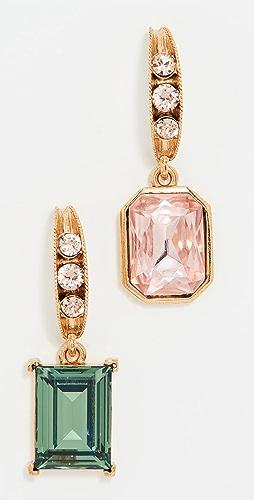 Oscar de la Renta - 豆荚和宝石耳环