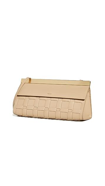 Oroton Jerome Woven Baguette Bag