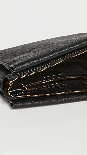 Oroton Margot Zip Crossbody Bag