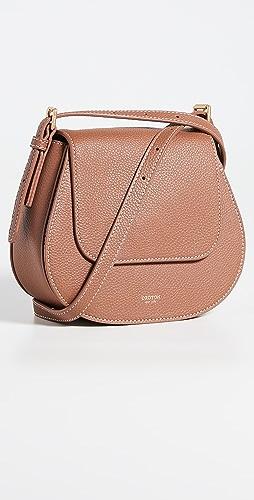 Oroton - Margot Small Saddle Crossbody Bag